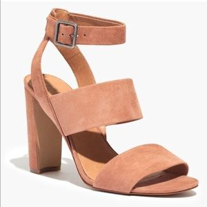 Madewell Octavia sandal in pink
